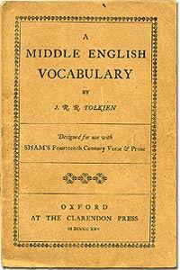 כריכת ספרו הראשון של טולקין