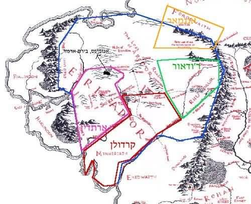 מפת הגבולות בעידן השלישי